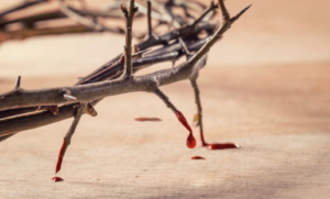 The Blood of Jesus makes it possible to give the Lord what we owe Him –